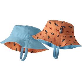 Patagonia Baby Sun Bucket Hat Tamar Tiger/Peach Sherbet